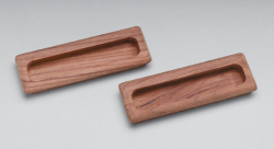 "Rectanglular drawer pull, 4-1/2"" long, 2 pk - Whitecap"