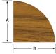 "Quarter Round Molding 1/2""H x 1/2""W, 5' length - Whitecap"