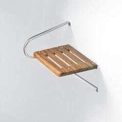 Teak Swim Platform-Outboard w/hardware - Whitecap