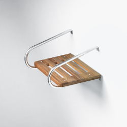 Teak Swim Platform- Inboard/Outboard w/hardware - Whitecap