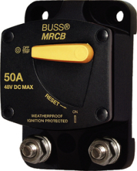 Circuit Breaker, 50Amp, Surface Mount - Blue Sea Systems