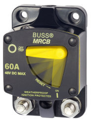 Circuit Breaker, 60Amp, Surface Mount - Blue Sea Systems