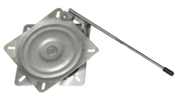 Locking Stainless Steel Seat Swivel, 7 x 7 - Garelick