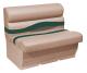 "Premier Pontoon 36"" Bench Seat, Mocha-Mocha Java Punch-Evergreen-Rock Salt - Wise Boat Seats"