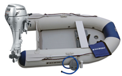 Maxxon CS-300 Inflatable Boat w/ 15hp honda - Maxxon Inflatables