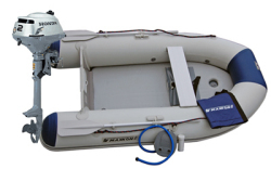 Maxxon CS-270 Inflatable Boat w/ 2.3hp Honda - Maxxon Inflatables