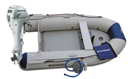 Maxxon CS-270 Inflatable Boat w/ 9.9hp Honda - Maxxon Inflatables