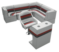 Wise Deluxe Pontoon Rear Entry Big L Group