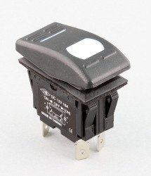 5-Pole Switch, with LED, Labels Included Main