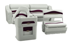 Wise Premier Pontoon Traditional Rear Seat Group