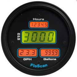 7000-231-2 Series 7000 Multi-Function Fuel Meter - Floscan