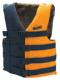"Life Vest, 32"" to 40"", Navy Blue/Gold - Seachoice"