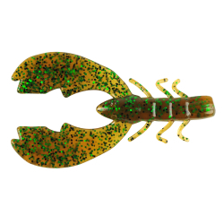 "Berkley Powerbait 3"" Chigger Craw - Color: Pumpkin Green Fleck"