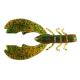 "Berkley Powerbait 4"" Chigger Craw - Color: Pumpkin Green Fleck"