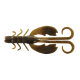 "Berkley Powerbait 4"" Crazy Legs Chigger Craw - Color: Green Pumpkin"