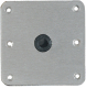 "Attwood Lock-N-Pin Base Plate 7"" X 7"" With Bronze Bushing"