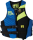 Men's Phantom Neoprene Vest, Royal/Chartreuse, Md.
