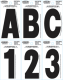 Dyer®</Sup> Font Individual Letters & Numbers (Hardline Products)