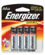Energizer Alkaline Batteries (Eveready Battery)