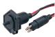 Waterproof Trolling Motor Receptacle & Plug (Sea-Dog Line)