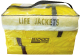 Seachoice Life Vest Pack Contains 4 Adult Sized Yellow Universal Type II PFD's With Storage Bag