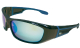Cuda Polarized Blue Mirror Sunglasses W/Blue  …