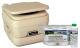 Sanipottie 962 2.8 Gal. Bonus Pack-Parchment
