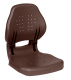 Ergo-Angler Folding Seat; Wise Brown