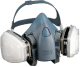 7500 Series Half Facepiece Ultimate Reusable (3m Marine)