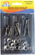 Assorted 54 Piece Stainless Steel Oval Machine Screw Kit (Handiman)