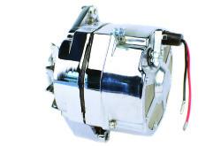 Delco Chrome High Output Alternator for Mercruiser & Others 12V 105Amp