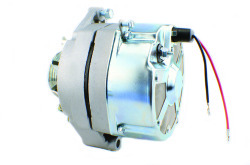Delco 10SI 2-Wire Alternator to Replace Original Mando Applications for Mercruiser 12V 63Amp
