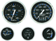 Faria Chesapeake Black SS series - Ammeter
