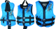 Kids Traditional Deluxe Neoprene Vest Blue/Black
