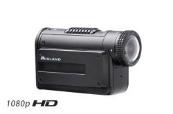 1080P HD Camera w/Submersible Case, Black