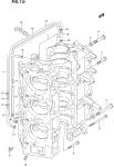 Crankcase (Dt150s/225/225g Model:95~00)(*)