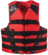 PFD ADULT NYLON RED S/M - FULL THROTTLE