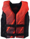 PFD YOUTH HINGED RED/BLACK - FULL THROTTLE
