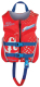 PFD CHILD RAPID-DRY FLEX-B RED - FULL THROTTLE