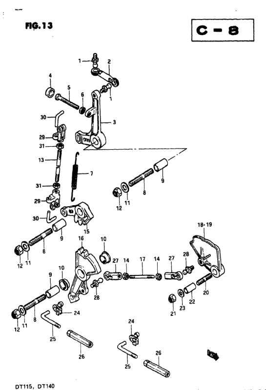 Throttle Link (Model Vz)