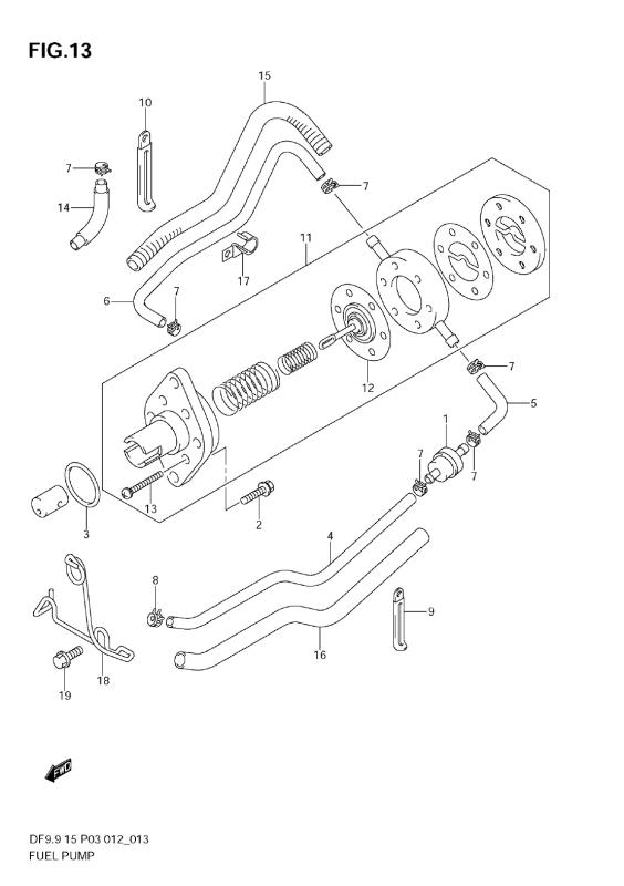 Fuel Pump (Df9, 9th)