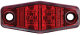 Mini Sealed LED Marker/Clearance Light, Red - Optronics