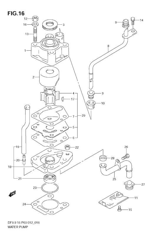Water Pump (Df9, 9th)