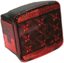 LED Stop, Turn, & Tail Light w/ License Light
