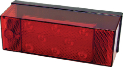 LED Stop & Tail w/ License Light
