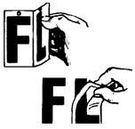 """Boat Lettering """"F"""", White - Seachoice"""