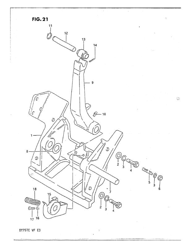 Cylinder Support (Model Qd)