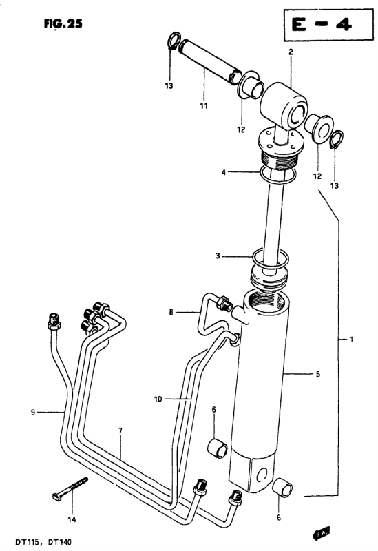 Tilt Cylinder