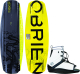 O'Brien Format 137 Wakeboard with Link Bi …