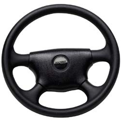 Deluxe Sport Style Steering Wheel, 4 Spoke - Seachoice